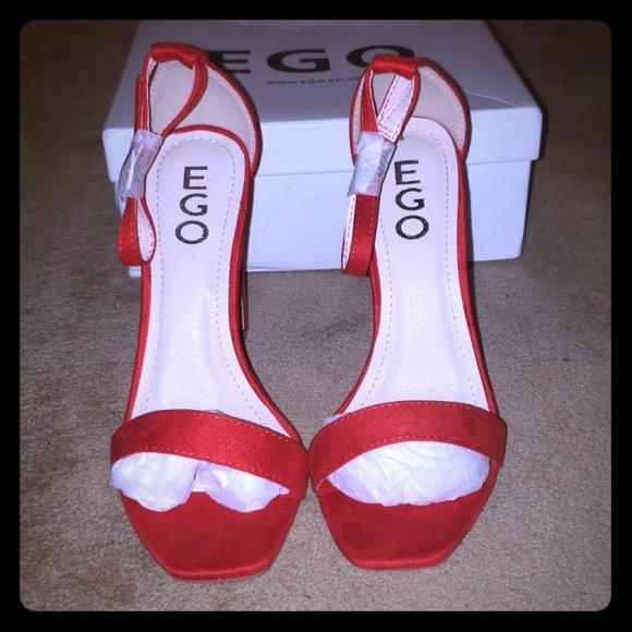 Brand new lip stick red heels...
